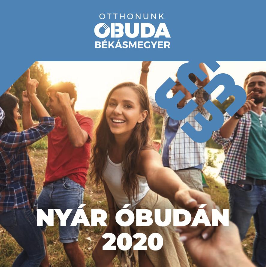 Nyár Óbudán 2020 letölthető programfüzet