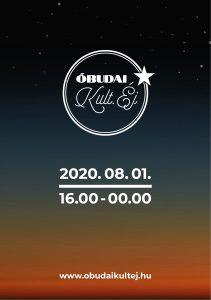 Óbudai Kult Éj 2020 letölthető programfüzet