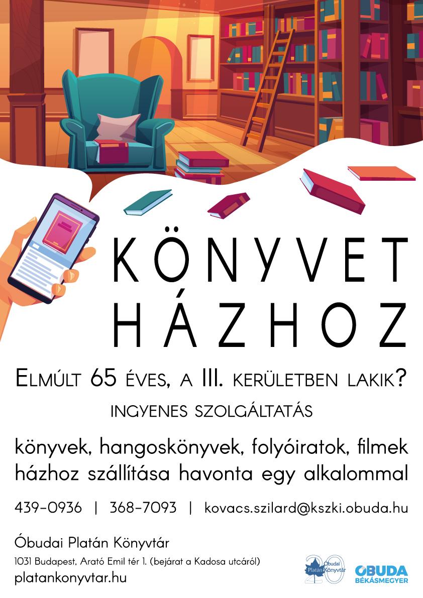 könyvet házhoz