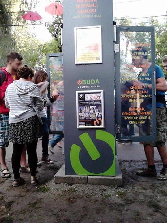 Óbudai KönyvMegálló a Sziget Fesztiválon  2016.