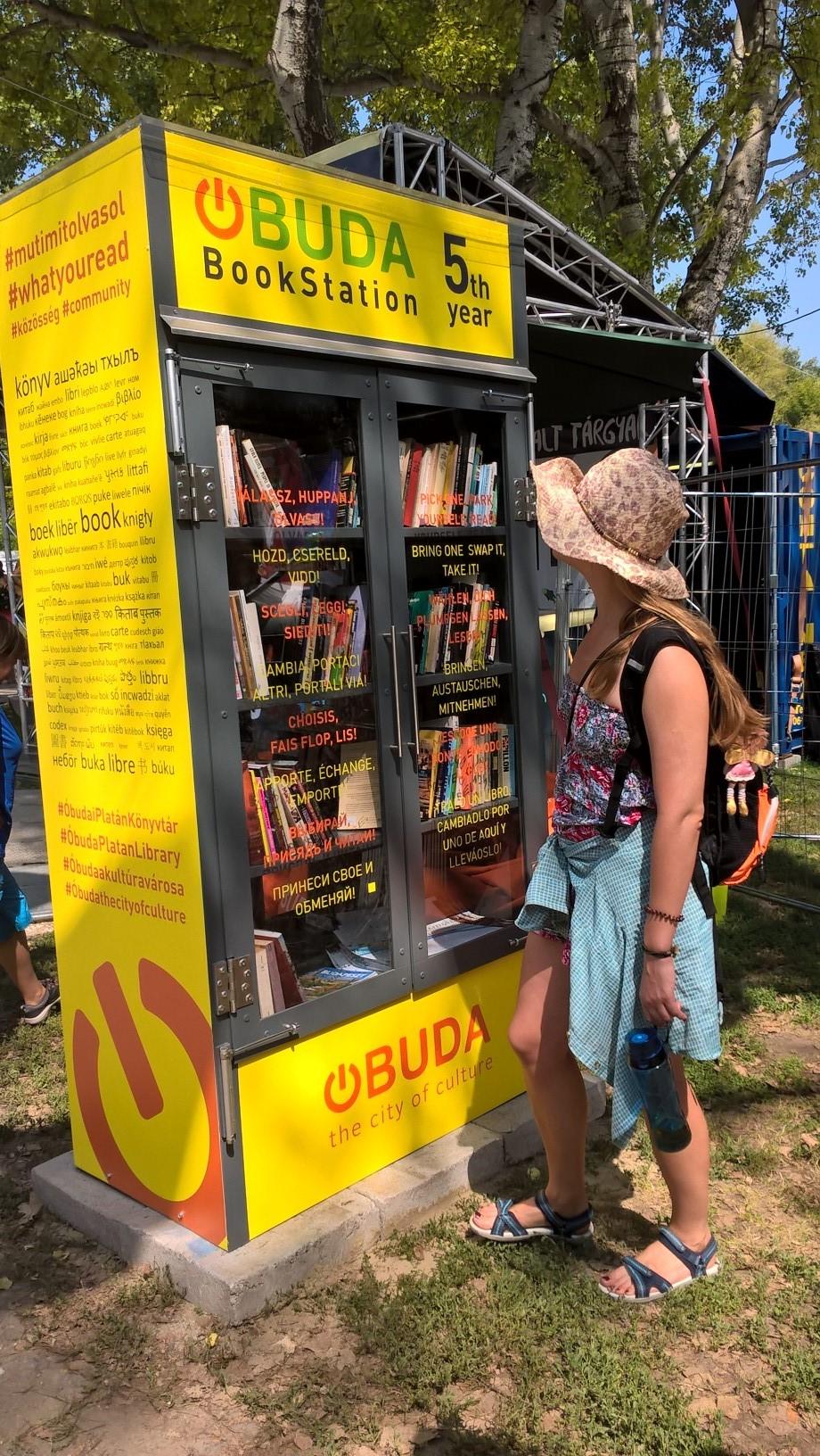 Óbudai KönyvMegálló 5. éve a Sziget Fesztiválon