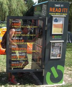 Óbudai KönyvMegállók a Sziget Fesztiválon