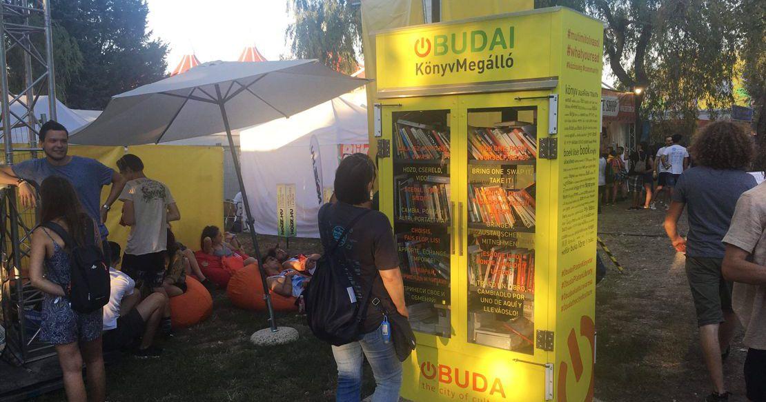 Óbudai KönyvMegálló a Sziget Fesztiválon